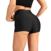 Women High Waist Shorts Gym Sport Running Sknniy Yoga Dance Fitness Short Pants