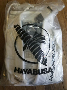 Hayabusa Gold Weave Warrior Jiu Jitsu Gi white as pictured