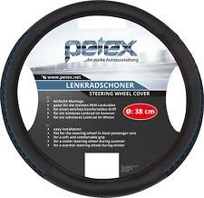 Petex Lenkradschoner Durchmesser 38 Cm Tpe-ring schwarz blau Lenkradbezug