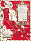 Pictorial 1891 San Francisco Bay Peninsula Stanford University Map 11'x14' Print