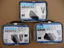Oxford Aquatex Single / Double / Triple Bicycle Bike Cycle rain cover waterproof