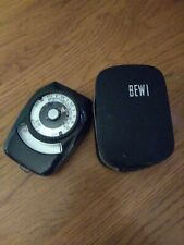 Vintage Made In Germany BEWI Quick Light Meter