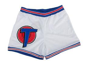 Space Jam Tune Squad White Basketball Shorts