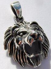 Sterling Silber 925 Roaring Lion Anhänger (6 Gramm)!!! NEU!!!