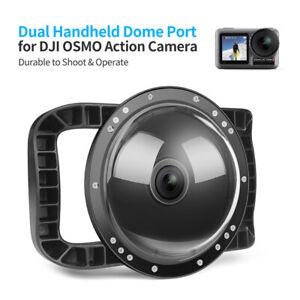 """6"""" 45M Dome Unterwassergehäuse Dual Griff für DJI OSMO Tätigkeits-Kamera-Zubehör"""