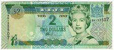 **   FIDJI     2  dollars   2002   p-104a    UNC   **