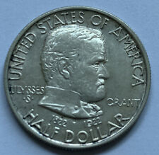 1922 - GRANT Centennial Commemorative Silver Half Dollar.  M-24-11