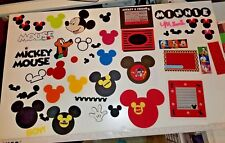 NEW! HUGE LOT OF DISNEY SCRAPBOOK HANDMADE ITEMS ~ MICKEY PLUTO MINNIE