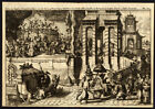 Rare Antique Print-TATAR HOSPITALITY AND LUSTER FOR GUESTS-CHINA-de Hooghe-1682