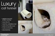 Rosewood Luxury Faux Fur Cat Tunnel L46 X W38 X H27cm