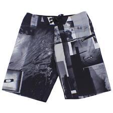 Oakley Chrome Plated Boardshorts Size 34 L Jet Black Mens Casual Swim Shorts