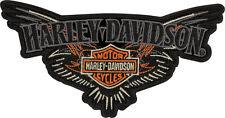 HARLEY DAVIDSON B&S Pinstriping  6.5 INCH PATCH
