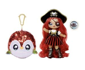 MGA Entertainment Na Na Na Surprise 2-in-1 Fashion Doll and Sparkly Sequined