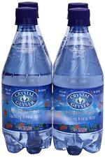 Crystal Geyser, Mineral Water, Berry, 4 ct, 18 oz each