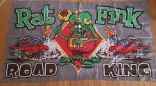 New listing New Rat Fink Flag Banner Sign 3x5 Feet Garage Man Cave Road King Gray