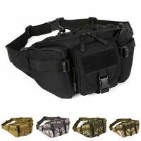 Nylon Men Waist Bag Fanny Pack Tactical Hiking Outdoor Belt Hip Bum Phone Pouch