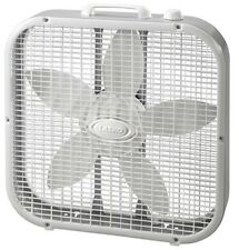 "Lasko 20"", Gray, Compact Box Fan 3733"