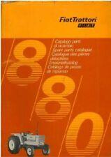 FIAT TRACTOR 880 PARTS MANUAL