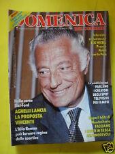 DOMENICA DEL CORRIERE ANNO 88 N. 45 8 NOVEMBRE 1986