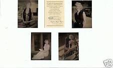 """""""MARILYN MONROE"""" HOLLYWOOD LEGENDS, 4 CARD HOLOGRAM SET, 1992"""