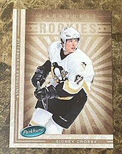 2005-06 Parkhurst #657 Sidney Crosby RC Rookie PENGUINS Rookie