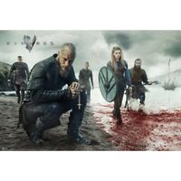VIKINGS - BLOOD LANDSCAPE POSTER 24x36 - TV SHOW 3655