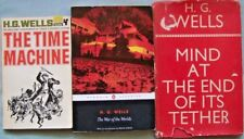 H. G. WELLS ~ 3 CLASSICS ~ THE TIME MACHINE, WAR OF THE WORLDS, 1 MORE
