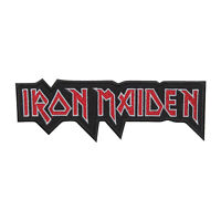 Iron Maiden Music Band Logo Patch Iron On Patch Sew On Embroidered Patch