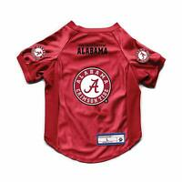 NEW ALABAMA CRIMSON TIDE DOG CAT DELUXE STRETCH JERSEY