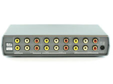 Shinybow SB-5420 4x2 AUTO Switching Composite Video/Stereo Audio Switch