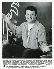 PAUL RODRIGUEZ SMILING PORTRAIT LATIN NIGHTS ORIGINAL 1995 ABC TV PHOTO