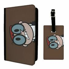 Luggage Tag &/OR Passport Holder Animated Cartoon Dexters Lab - T177