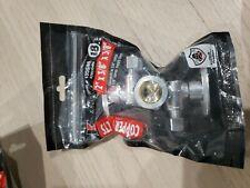 Keeney Brass 1/2-In Compression X 3/8 X 1/4 Quarter Turn 3-Way Valve 8 pieces