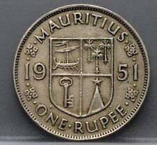 Mauritius - one rupee 1951 - 1 rupee 1951 -  KM# 29.1