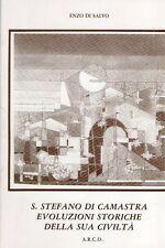 S.STEFANO DI CAMASTRA EVOLUZIONI STORICHE DELLA SUA CIVILTA' DI SALVO (VA780)
