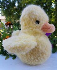RARE HTF CHARM CO Plush Yellow Duck Soft Toy 1983 Vintage Stuffed Animal