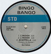 "L'Indien - Bingo Bongo 12"" S.T.D. Records HTB 65.10.04"
