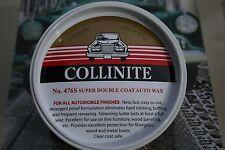 *Collinite #476S Detergent Proof Auto Wax FACTORY FRESH