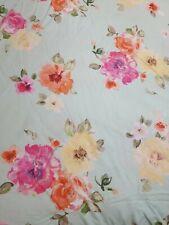 Pb Teen Country Blooms Cotton Duvet Cover EUC FRESH
