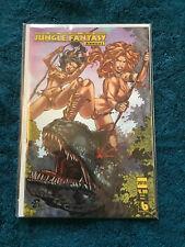Boundless 2019 Jungle Fantasy Annual Battle Babes Renato Camilo Artist Cover