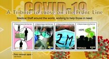 RA) 2020, TUVALU, FIGHT AGAINST PANDEMIC, TRIBUTE TO THE WORKERS, MINISHEET