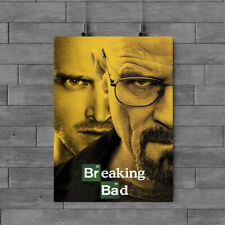 BREAKING BAD TV SERIES  POSTER  GLOSSY PAPER  A1 A2 A3 A4 FREE POSTAGE