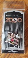 Mickey Mouse 1999 /2000 Spinner Countdown to the Millennium #1 NEW Disney Pin
