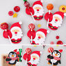 50pcs Mini Lollypop Santa Claus Penguin Lollipop Sticks Christmas Party Decor