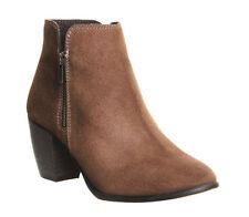 Zip Suede Boots OFFICE for Women