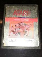 RealSports Soccer (Atari 2600, 1983) *BUY 2 GET 1 FREE +FREE SHIPPING*