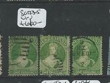NEW ZEALAND  (P0608B) QV CHALON 1/-  SC123-5  CDS