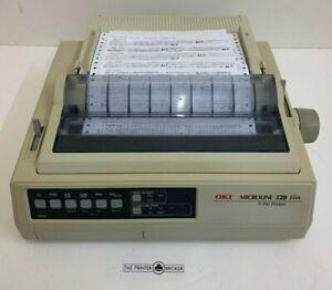09000186 - OKI Microline 320 Elite / ML-320e / ML320 -A4 Mono Dot Matrix Printer