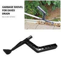 Plastic Gutter Leaf Cleaner Spoon Farm Garden Roof Rubbish Cleaning Hook