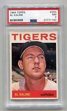 1964 AL KALINE **Detroit Tigers** Topps #250 PSA 7 NM
